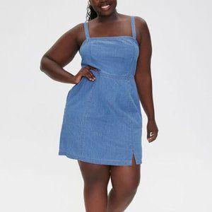 Forever 21 Plus Plus Size Denim Mini Dress NWT